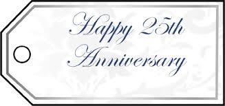 twenty fifth anniversary gift s
