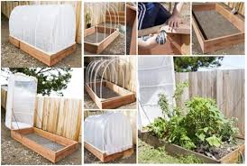 make diy removable greenhouse cover
