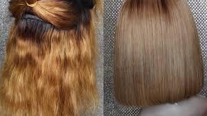 fix bry orange hair to ash blonde