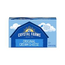 crystal farms original cream cheese 8