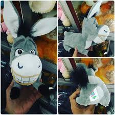 Boneka mainan tokoh hewan keledai si Dunky tokoh kartun SHREK SNI ...