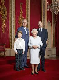 New 2020 royal portrait shows Queen with Charles, William, and George -  Insider