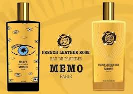 Купить духи memo french leather rose