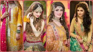 mehndi dress design 2019