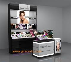 cosmetic showcase gzacrylic