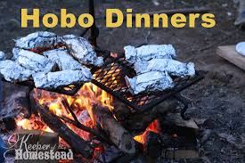hobo dinners on the cfire keeper