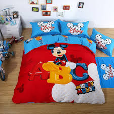 mickey mouse duvet set luxury bedding