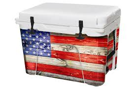 Skin Decal Wrap For Yeti Tundra 45 Qt Cooler Battle Ball For Sale Online Ebay