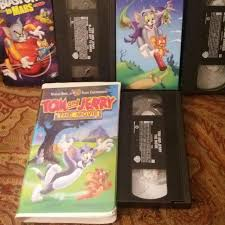 TOM And JERRY 3 Video Bundle (VHS) All Come In... - Depop