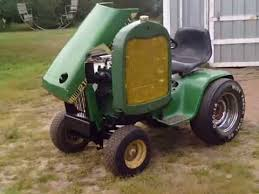 luc engine on a lawn and garden tractor