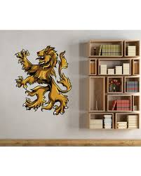 Hot Sale Medieval Lion Vinyl Wall Decal Medievallionuscolor004 48 In