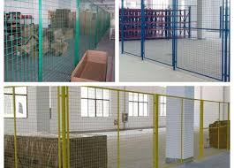 Indoor Warehouse Safety Fences Security Steel Fencing 1 5 3m Width