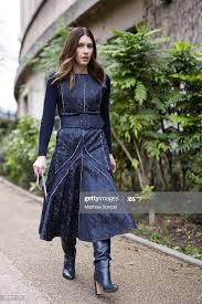 Sheena Smith is seen attending Mugler during Paris Fashion Week... News  Photo - Getty Images