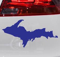 Upper Peninsula U P Michigan Car Decal Car Decals Vinyl Bumper Stickers Car Decals Stickers