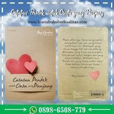 resensi buku catatan pendek untuk cinta yang panjang karya boy