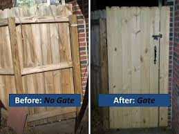 Installing A Gate In An Existing Fence Complete Novice Youtube
