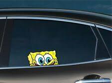 Spongebob Decal In Parts Accessories Ebay