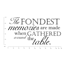 the fondest memories family quotes wall decal sticker ws