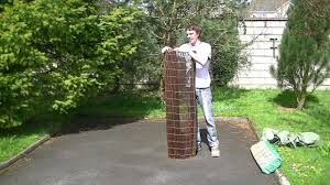 1 5m Willow Screen Fencing Youtube