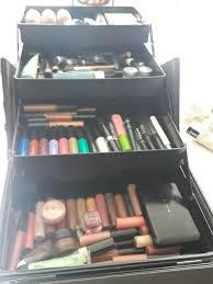 seya beauty pro aluminum makeup train