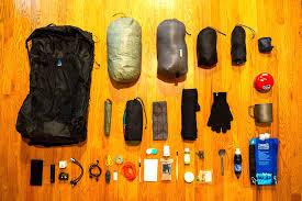 8 8 lb ultralight backng gear list