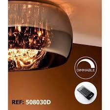 schuller argos 50cm ceiling lamp chrome