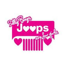 Silly Boys Jeeps Are For Girls Heart Grille Decal Jeep Stickers Jeep Decals Jeep Life Decal