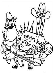 Spongebob Kleurplaat Printen 34