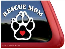 Paw Print Window Decal Nickerstickers