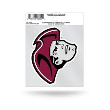 University Of Massachusetts Amherst Minutemen Logo Static Cling At Sticker Shoppe