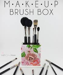 diy makeup brush box smart house