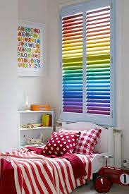 How To Decorate Your Kid S Room Homemajestic Rainbow House Rainbow Bedroom Bright Kids Bedroom