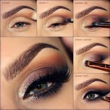step by step eye makeup pictures
