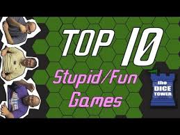 board games that look stupid but