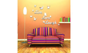 Inverlee Live Laugh Love Quote Removable Wall Art Stickers Mirror Decal Groupon