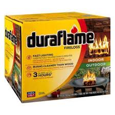 wax log fire starters fireplaces