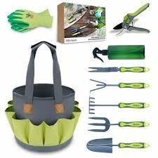 garden tools set heavy duty 9 pcs