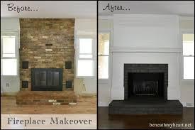 brick fireplace surround plans diy