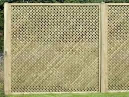 Fettes Has A Wide Range Of Fence Panels Including A Heavy Diamond Trellis