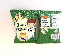 Bolsa Snack Personalizada Futbol Real Madrid