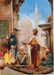 Arab or Arabic people and life. Orientalism oil paintings 415 ...
