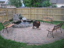 fire pit ideas for backyard small