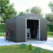metal sheds with floors integral
