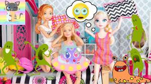 Cuộc Sống Của Búp Bê Barbie Tại Minky VN Tập 15 - SLEEP OVER ...