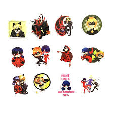 Td Zw 50pcs Cartoon Miraculous Ladybug Stickers Waterproof Decal Laptop Motorcycle Luggage Snowboard Fridge Phone Car Sticker Buy At The Price Of 2 00 In Aliexpress Com Imall Com