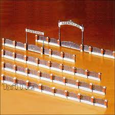 Ebluejay Kibri Ho Scale 9792 Factory Wall Fence With Gates Kit