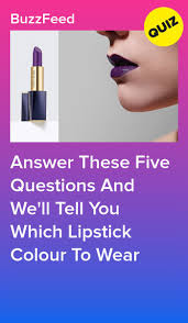 ll tell you which lipstick colour