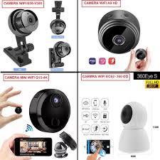CHỌN 1 TRONG 4 Camera Mini Wifi Siêu Nhỏ Giám Sát FULL HD 1080P Xem Từ Xa  Qua Điện Thoại 3g 4g 5g giá rẻ chất hơn camera Yoosee V380 - MuaGiaRe