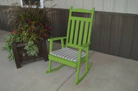 classic front porch rocker amish made