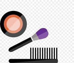 brush cosmetics make up png